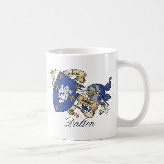 Escudo de la familia de Dalton Taza Básica Blanca
