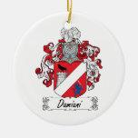 Escudo de la familia de Damiani Ornamento De Reyes Magos