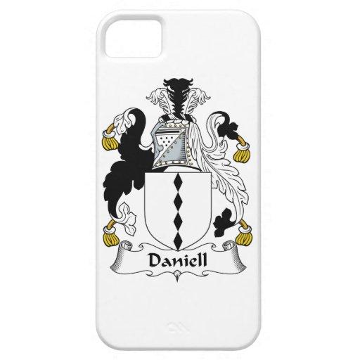 Escudo de la familia de Daniell iPhone 5 Carcasa