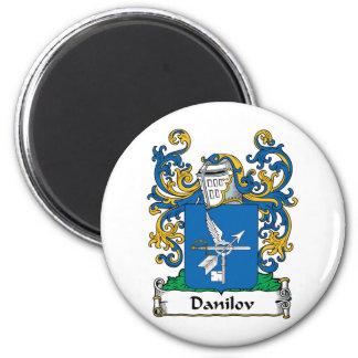 Escudo de la familia de Danilov Imán Redondo 5 Cm