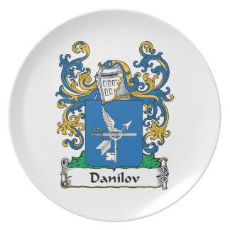 Escudo de la familia de Danilov Plato