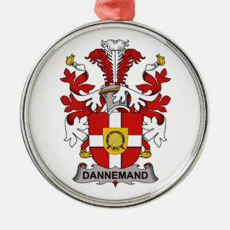 Escudo de la familia de Dannemand Ornamente De Reyes