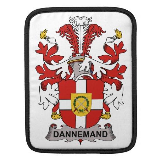 Escudo de la familia de Dannemand Mangas De iPad