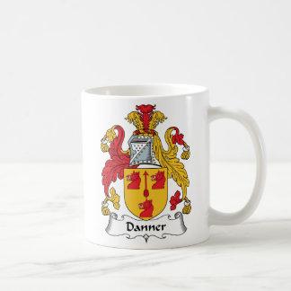 Escudo de la familia de Danner Taza De Café