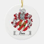 Escudo de la familia de Danza Ornamento Para Arbol De Navidad