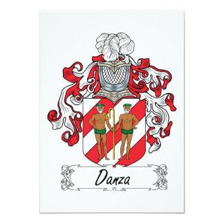 """Escudo de la familia de Danza Invitación 5"""" X 7"""""""