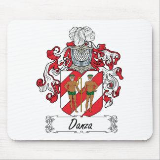 Escudo de la familia de Danza Tapete De Raton