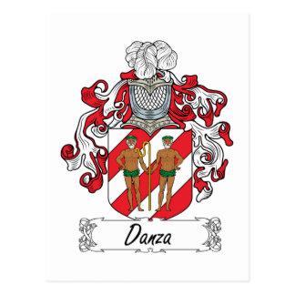 Escudo de la familia de Danza Postal