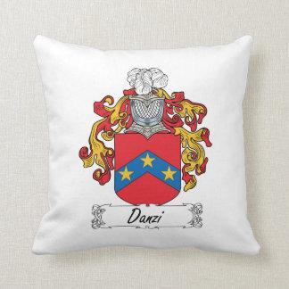 Escudo de la familia de Danzi Almohadas