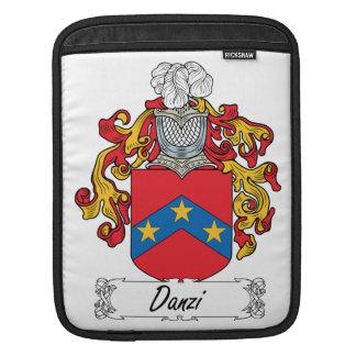Escudo de la familia de Danzi Fundas Para iPads