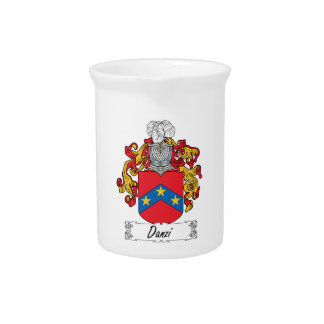 Escudo de la familia de Danzi Jarra De Beber