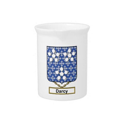 Escudo de la familia de Darcy Jarra