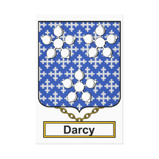 Escudo de la familia de Darcy Impresiones En Lona