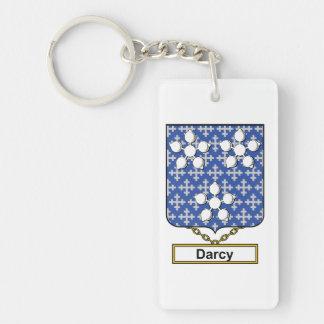 Escudo de la familia de Darcy Llavero Rectangular Acrílico A Una Cara