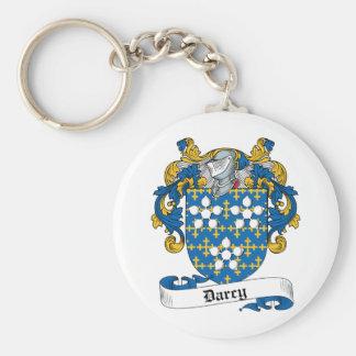 Escudo de la familia de Darcy Llavero Redondo Tipo Pin
