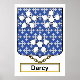Escudo de la familia de Darcy Poster