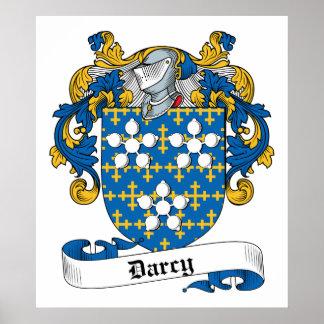 Escudo de la familia de Darcy Impresiones