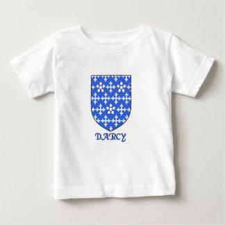 Escudo de la familia de Darcy Playera Para Bebé
