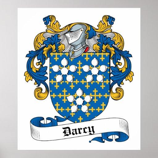 Escudo de la familia de Darcy Póster
