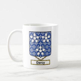 Escudo de la familia de Darcy Taza