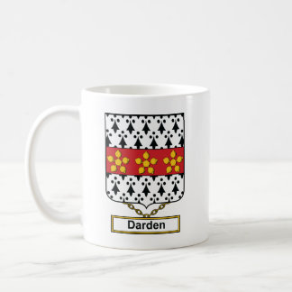 Escudo de la familia de Darden Taza