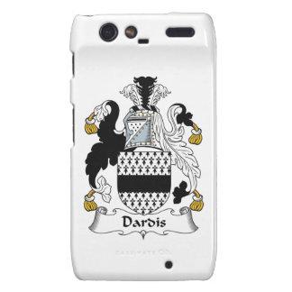 Escudo de la familia de Dardis Droid RAZR Fundas