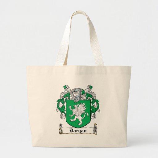 Escudo de la familia de Dargan Bolsa De Mano