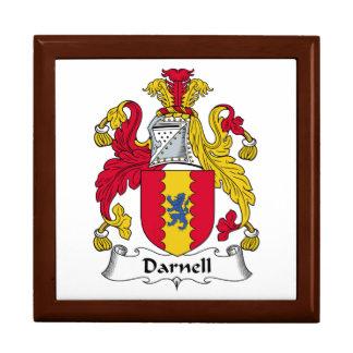 Escudo de la familia de Darnell Cajas De Regalo