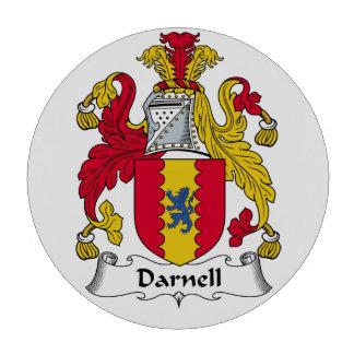 Escudo de la familia de Darnell Juego De Fichas De Póquer