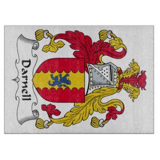 Escudo de la familia de Darnell Tablas De Cortar