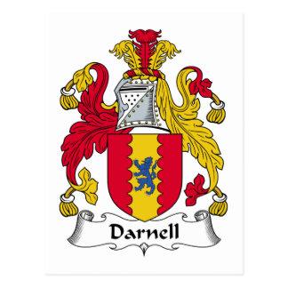Escudo de la familia de Darnell Postal