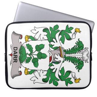 Escudo de la familia de Darr Fundas Computadoras