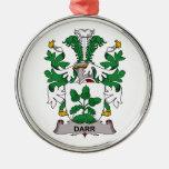 Escudo de la familia de Darr Ornamente De Reyes