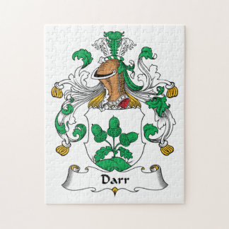 Escudo de la familia de Darr Rompecabezas