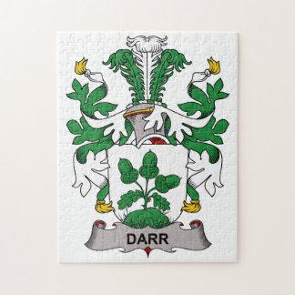 Escudo de la familia de Darr Rompecabeza