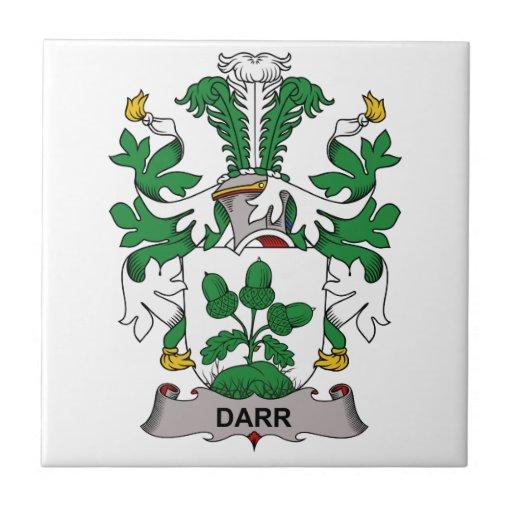 Escudo de la familia de Darr Teja