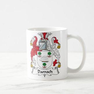 Escudo de la familia de Darroch Taza De Café