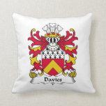 Escudo de la familia de Davies Cojin