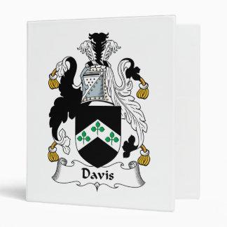 """Escudo de la familia de Davis Carpeta 1"""""""