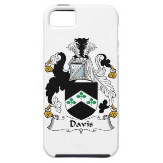 Escudo de la familia de Davis Funda Para iPhone 5 Tough