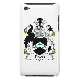 Escudo de la familia de Davis iPod Touch Case-Mate Carcasa
