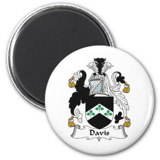 Escudo de la familia de Davis Imán Redondo 5 Cm