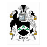 Escudo de la familia de Davis Postal