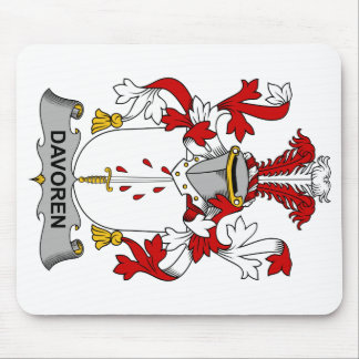 Escudo de la familia de Davoren Tapete De Raton