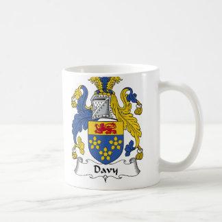 Escudo de la familia de Davy Taza Clásica