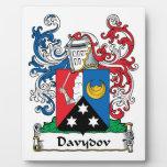 Escudo de la familia de Davydov Placa