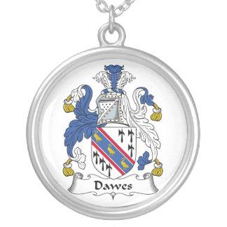 Escudo de la familia de Dawes Colgante Redondo