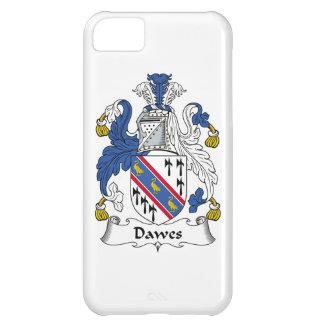 Escudo de la familia de Dawes Funda Para iPhone 5C