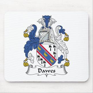 Escudo de la familia de Dawes Mousepads