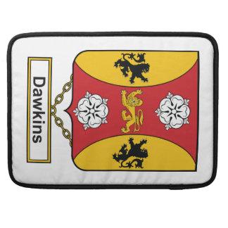Escudo de la familia de Dawkins Funda Macbook Pro